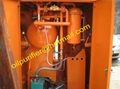 portable transformer oil purifier/used insulating oil purify system 4