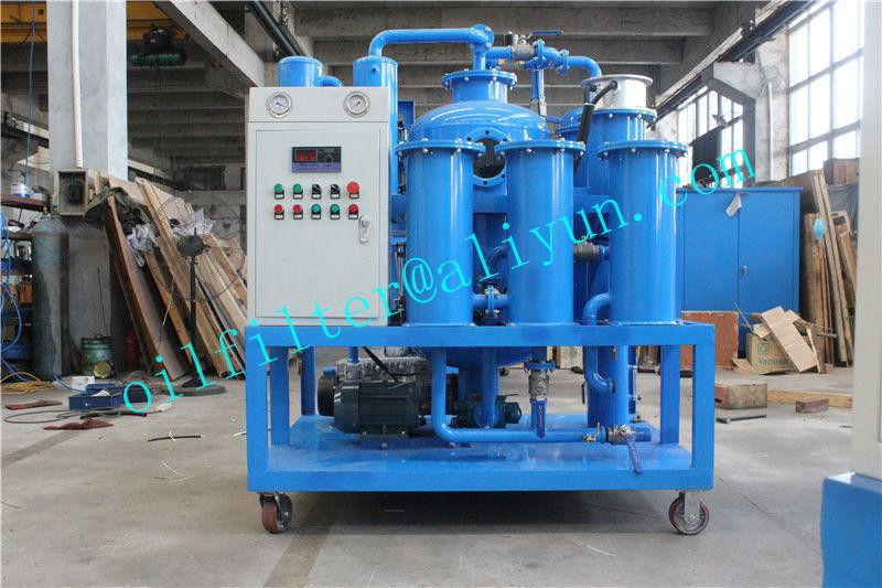 Vacuum Hydraulic Oil Dehydration/Degassing Purifier 1