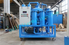 Vacuum Hydraulic Oil Dehydration/Degassing Purifier