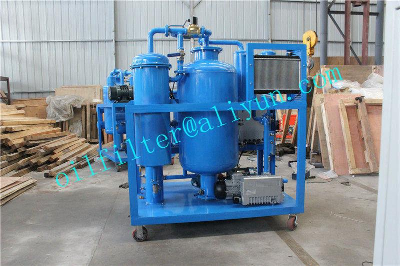 Vacuum Hydraulic Oil Dehydration/Degassing Purifier 2