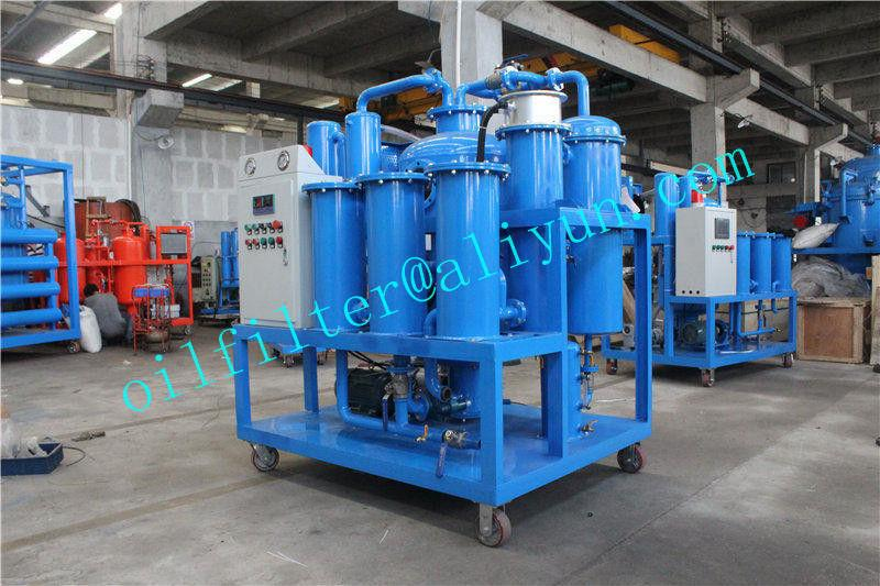 Vacuum Hydraulic Oil Dehydration/Degassing Purifier 3