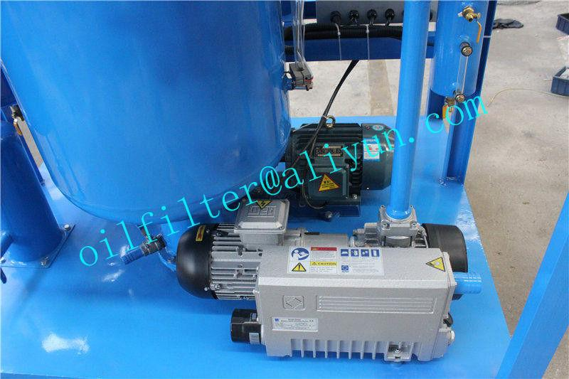 Vacuum Hydraulic Oil Dehydration/Degassing Purifier 4