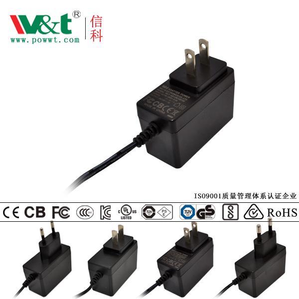 AV類IT類家電類醫療類EN55035認証12V1A5V2A12W電源適配器 1