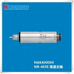 NSK日本進口無碳刷馬達軸承高速主軸NR-403E主軸NAKANISHI中西