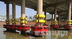 自浮式复合材料桥墩防撞设施