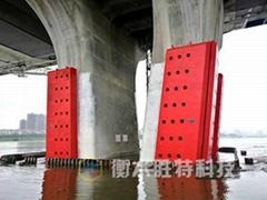 HX40 固定式鋼覆式復合材料防船撞裝置