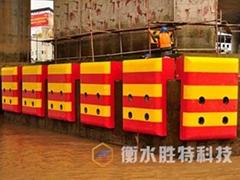 FRP 固定式復合材料橋墩防撞設施  橋墩安全防護裝置