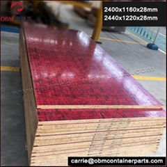 Shipping container bamboo floorboard