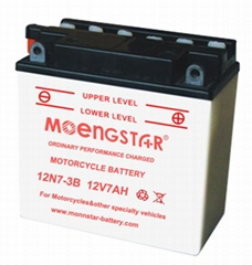 12n7-3b Ms Ordinary Performance Dry Charged Motorcycle Battery