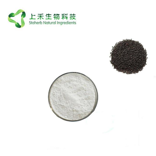 black sesame seed extract Sesamin powder 3