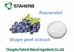 葡萄皮提取物白藜蘆醇
