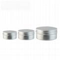 factory aluminum screw top tin box cheap