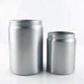 customized size round aluminum tin can