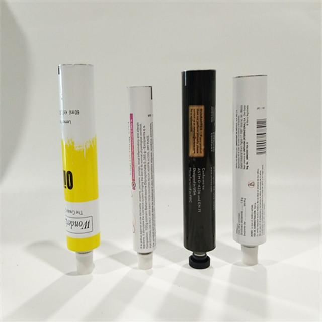 Aluminum Collapsible Tube Hand Cream Tube Cosmetic Aluminum Packaging Tube 1