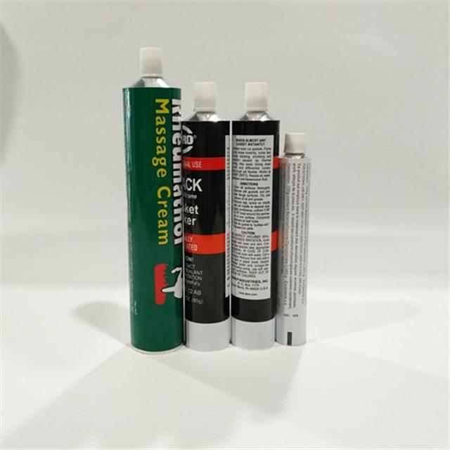 Aluminum Collapsible Tube Hand Cream Tube Cosmetic Aluminum Packaging Tube 4
