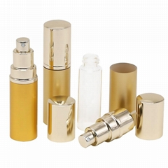 Perfume Sprayer TWIST UP ALUMINUM PERFUME ATOMIZER