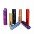 Perfume Sprayer TWIST UP ALUMINUM PERFUME ATOMIZER 3