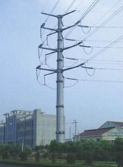 通化市24米66kv电力钢杆
