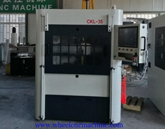 Wheel Repair Lathe With Automatic Optimization CKL-35