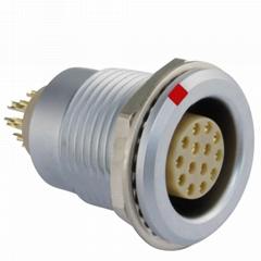 沿溪连接器14芯母座接插件仪器仪表信号传输采集器工业设备连接口