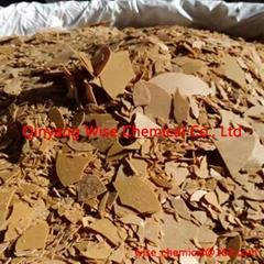 Inorganic salt 70% sodium hydrosulphide flakes for copper mining