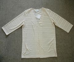 LADY'S SPECIAL FABRIC CARDIGAN
