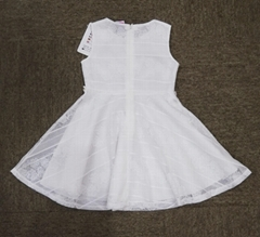 GIRL'S GOWN DRESS  SPECIAL FABRIC FUNNY DRESS