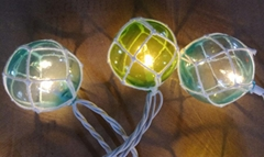 LED ball party string lights