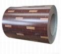 Brick Pattern PPGi Printed Steel Coil 2