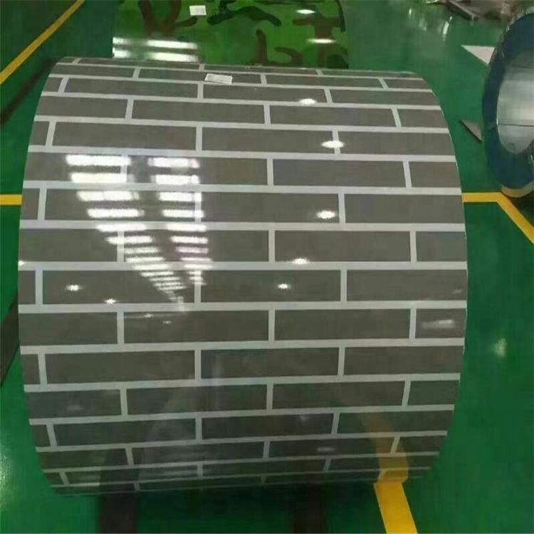 Brick Pattern PPGi Printed Steel Coil 4