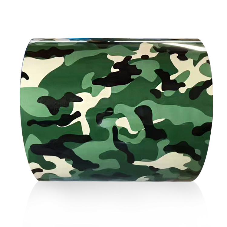 Camouflage Pattern PPGI Printed Steel Coil 1
