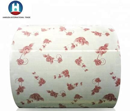 Flower  Pattern PPGi Printed Steel Coil 5