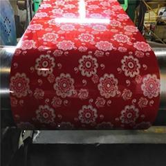 Flower  Pattern PPGi Print Steel Sheet