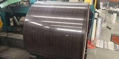 Black Walnut  Pattern PPGi Printed Steel Coil