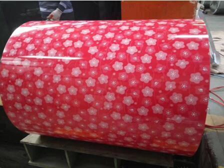 Flower Design Pattern PPGI For Decoration 2