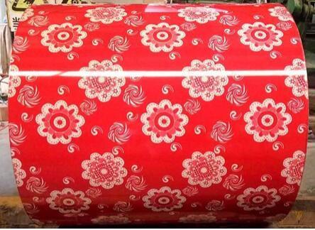 Flower Design Pattern PPGI For Decoration 3