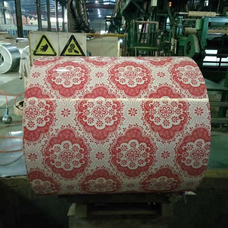 Color Coated Aluminium Coil PPAL 1