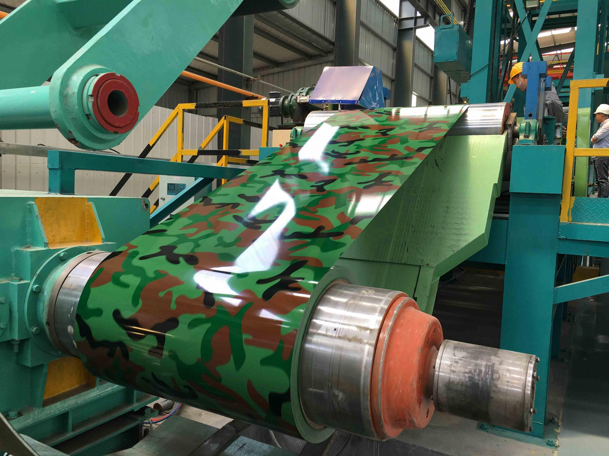 Color Coated Aluminium Coil with Customized PPAL 1