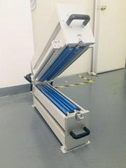 印刷前加裝除靜電除塵系統