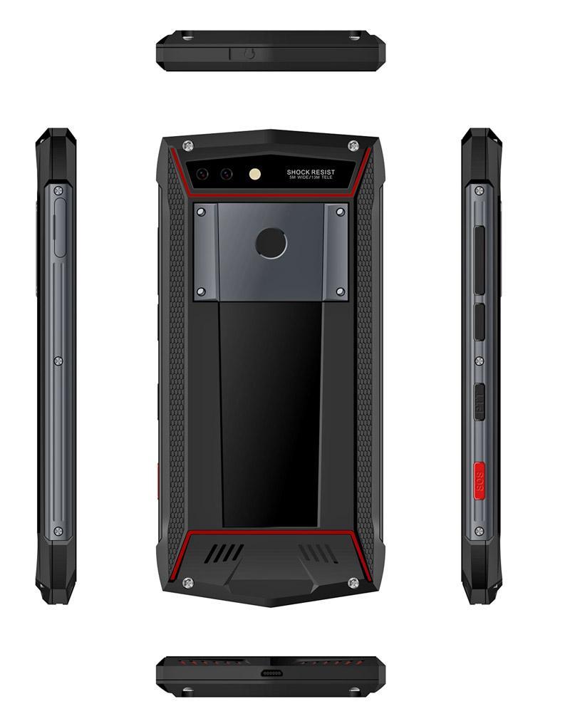 豪盾5.7寸6G+128G全網通4G八核FHD屏 NFC PTT工業手機 1