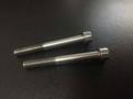 Titanium alloy fastener and screw