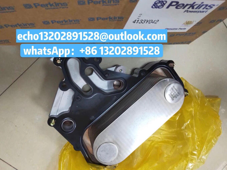 原裝正品Perkins帕金斯珀金斯發動機1100機油冷卻器4134W025卡特CAT C4.4 C6.6 C7.1 3