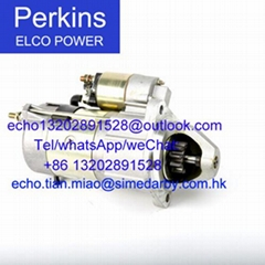 701/132 Starter Motor for Perkins 4008TAG/FG wilson P910/P1000parts 701/135
