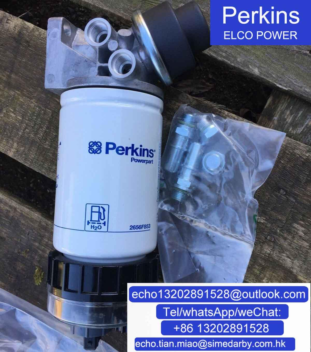 2656F087原廠珀金斯Perkins柴濾總成/福勒格配件 1