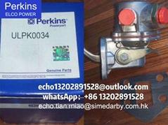 130506351原厂Perkins珀金斯帕金斯400系列电子泵手油泵JCB