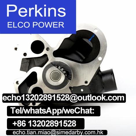 原廠Perkins珀帕金斯發動機水泵T413421卡特新C6.6 C7.1電噴配件 2