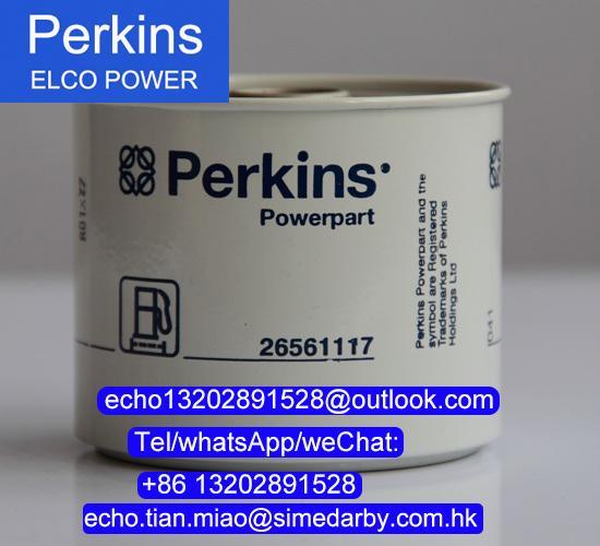 26561117珀金斯發動機濾芯柴油濾清器Perkins發動機配件 1