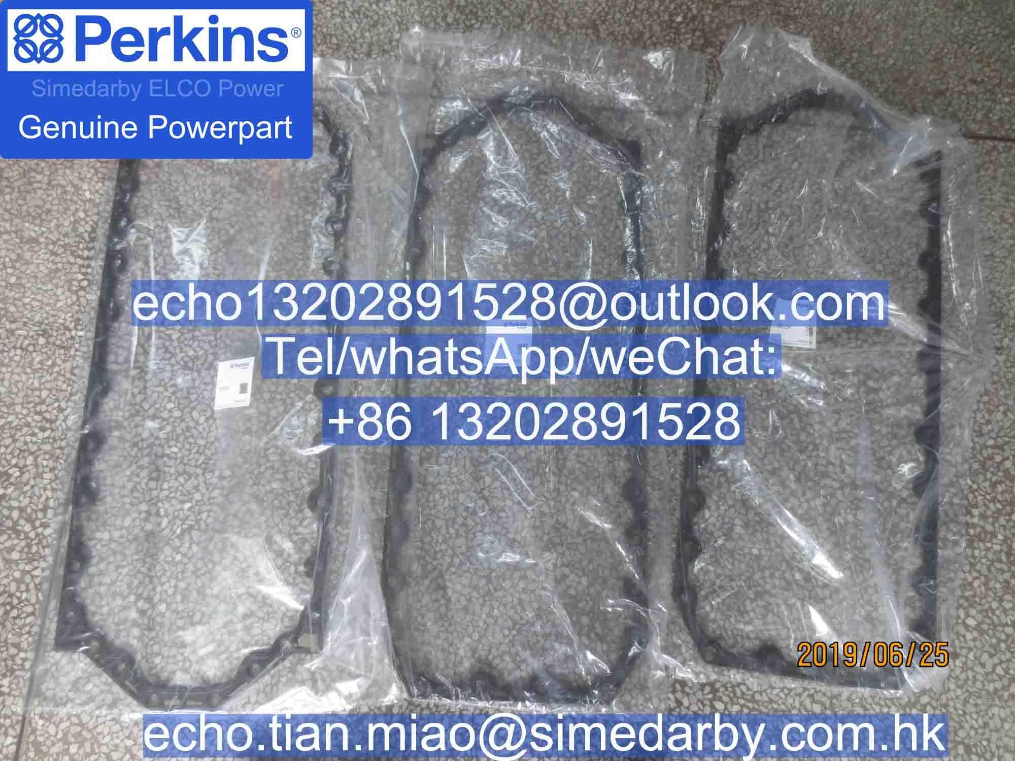 3681K041 3681K044原裝正品perkins珀金斯1100發動機油底殼墊片卡特C4.4 C6.6 C7.1 1