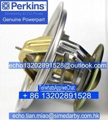 Perkins帕金斯403 404发动机节温器Ch11620/145306230威尔信发电机组配件CV20747