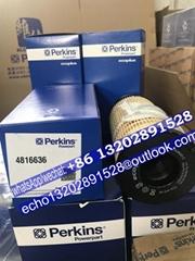 正品perkins珀帕金斯配件油水分离器初滤26560163 4816635威尔信威尔逊滤芯